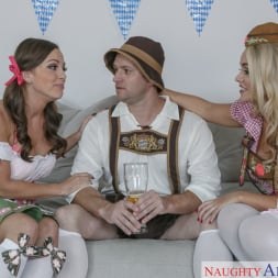 Abigail Mac in 'Naughty America' and Alexis Monroe and Preston Parker in 2 Chicks Same Time (Thumbnail 2)