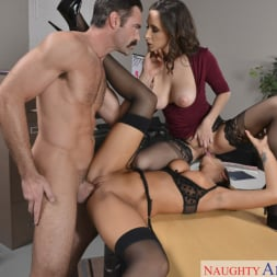 Ashley Adams in 'Naughty America' and August Ames and Charles Dera in Naughty Office (Thumbnail 5)
