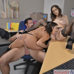 Ashley Adams in 'Naughty America' and August Ames and Charles Dera in Naughty Office (Thumbnail 6)
