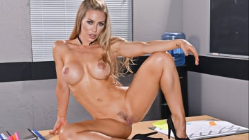 Nicole Aniston and Seth Gamble in My First Sex Teacher