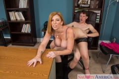 Sara Jay and Rion King in Naughty Office (Thumb 05)