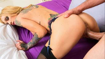 Sarah Jessie in 'and Ryan Driller in Neighbor Affair'