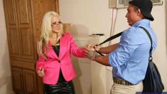 Briana Blair in 'and War Machine in Naughty Office'