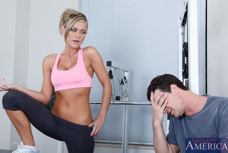 Naughty America 'and Otto Bauer in Naughty Athletics' starring Mckenzee Miles (Photo 1)