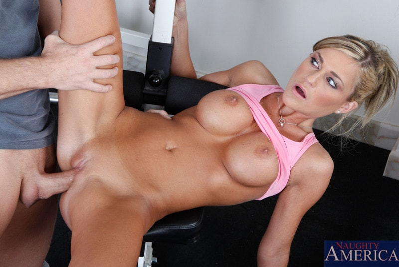 Naughty America 'and Otto Bauer in Naughty Athletics' starring Mckenzee Miles (Photo 7)