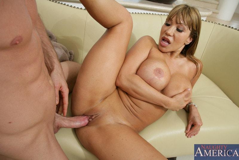Naughty America 'and Jordan Ash in My Friends Hot Mom' starring Ava Devine (Photo 13)