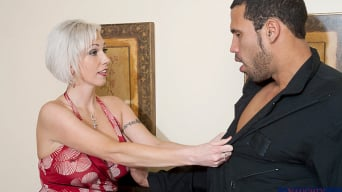 Kasey Grant in 'and Carlo Carrera in Seduced by a cougar'