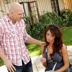 Ariella Ferrera in 'Naughty America' and Johnny Sins in My Wife's Hot Friend (Thumbnail 1)