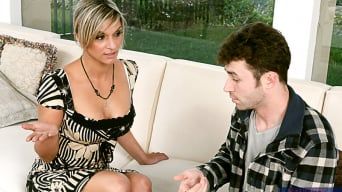 Klarisa Leone in 'and James Deen in My First Sex Teacher'
