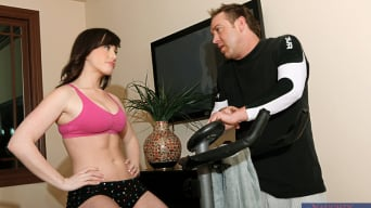 Jennifer White in 'and Will Powers in Naughty Athletics'