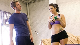 Jayden Jaymes in 'and Danny Wylde in Naughty Athletics'