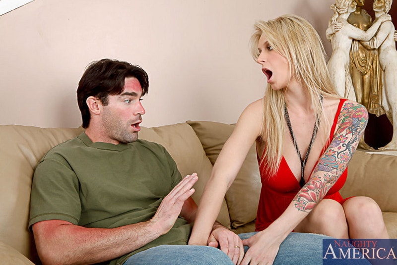 Naughty America 'and Charles Dera in My Wife's Hot Friend' starring Brooke Banner (Photo 2)