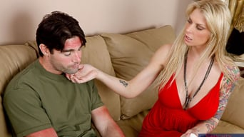 Brooke Banner in 'and Charles Dera in My Wife's Hot Friend'
