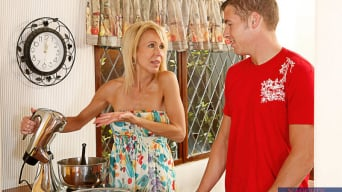 Erica Lauren in 'and Chris Johnson in My Friends Hot Mom'