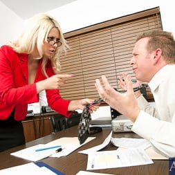 Jazy Berlin in 'Naughty America' and Mark Wood in Naughty Office (Thumbnail 1)