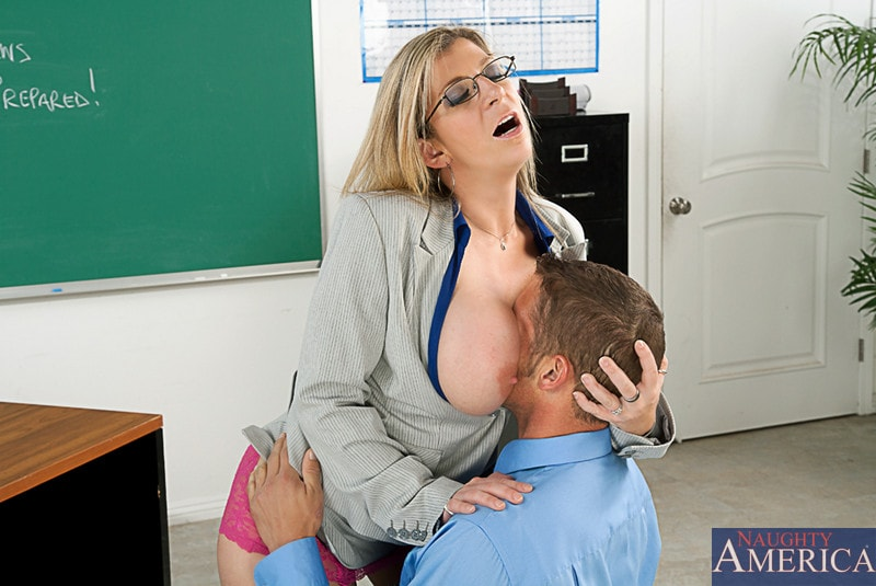 Naughty America 'and Chris Johnson in My First Sex Teacher' starring Sara Jay (Photo 2)