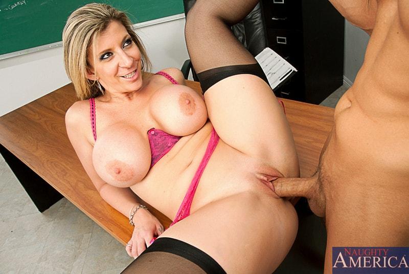 Naughty America 'and Chris Johnson in My First Sex Teacher' starring Sara Jay (Photo 14)