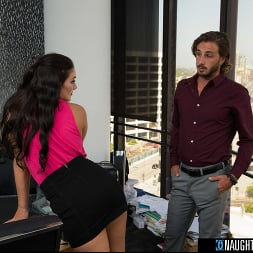 Alice Visby in 'Naughty America' will do anything, even fuck the boss to secure a job (Thumbnail 195)