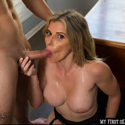 Cory Chase in 'Naughty America' gives student tips on making a women's pussy dripping wet (Thumbnail 144)