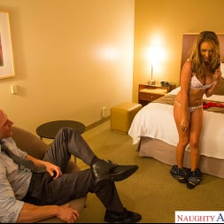 Ella Milano in 'Naughty America' has a big dick arrangement to pay for college -- but can she handle it (Thumbnail 21)