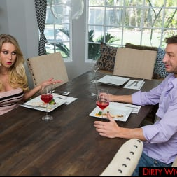 Katie Morgan in 'Naughty America' fucks her husband's college friend for missing dinner (Thumbnail 63)