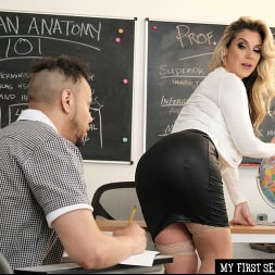 Kayla Paige in 'Naughty America' My First Sex Teacher (Thumbnail 30)