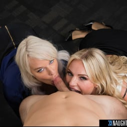 London River in 'Naughty America' and Rachael Cavalli have hot threesome in the office with their co-worker in order to leave early for Labor Day (Thumbnail 54)