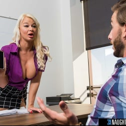 London River in 'Naughty America' gets bent over desk and fucked by intern (Thumbnail 72)