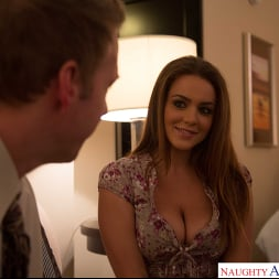 Natasha Nice in 'Naughty America' is one hot student in need for some financial help and cock (Thumbnail 18)