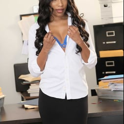 Olivia Jay in 'Naughty America' fucks her way out of trouble in the Office (Thumbnail 1)
