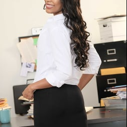 Olivia Jay in 'Naughty America' fucks her way out of trouble in the Office (Thumbnail 13)