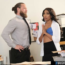 Olivia Jay in 'Naughty America' fucks her way out of trouble in the Office (Thumbnail 39)