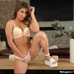 Paige Owens in 'Naughty America' fucks her friend's dad in the living room (Thumbnail 195)