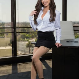 Spencer Bradley in 'Naughty America' is a very naughty employee bending over with no panties at work!!! (Thumbnail 1)